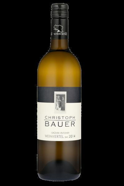 Ch.Bauer-BIO grüner Veltliner-Weinviertel DAC 2018