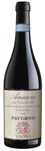 Vaona - Amarone Classico DOCG Paverno 2015