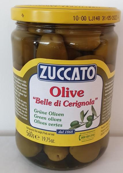 ZUCCATO Olive Belle di Cerignola- grüne Oliven