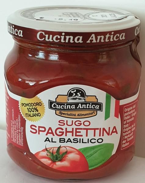 Cucina Antica -Sugo Spaghettina Basilico