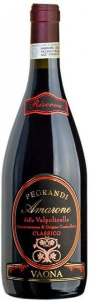 Vaona - Amarone Classico DOCG Pegrandi Riserva 2012