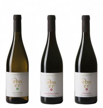 Ebner - 3er Paket Vernatsch, Zweigelt, Sauvignon