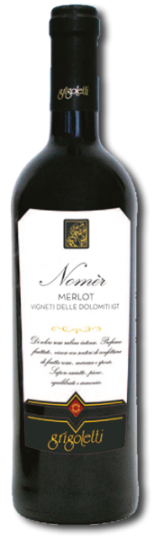 Grigoletti -Nomèr Merlot 2019