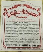 Gnocchi di Patate 500 gr.
