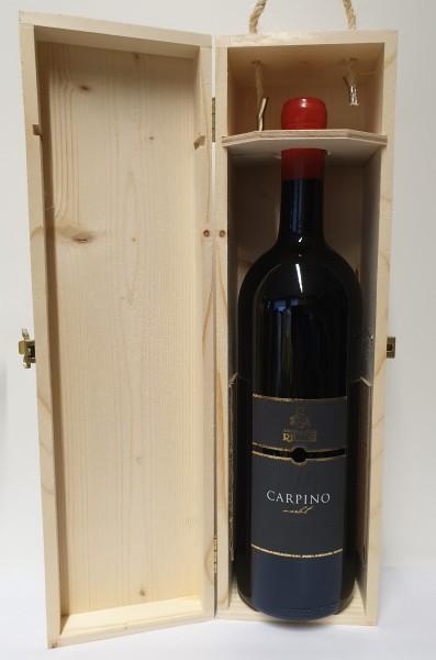 Ricchi-Garda Merlot Carpino 2014 in Holzbox