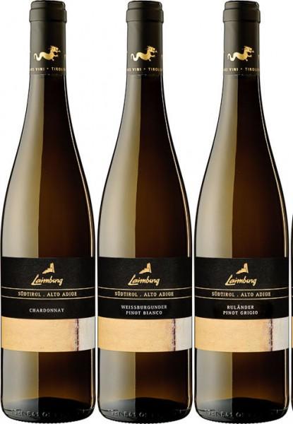 Laimburg- 6er Weinpaket Weißwein - 3 Sorten