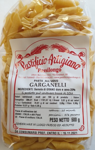 Garganelli 500 gr.