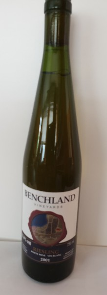 Benchland Riesling
